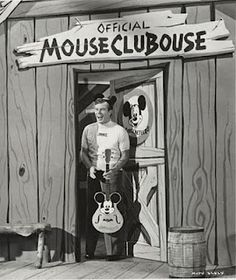 Image result for mickey mouse club television set