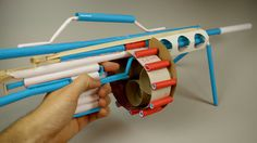 Learn how to make a machine gun that shoots paper using a trigger. WARNING-Use this weapon carefully not shoot at anyone and wear protective glasses. Use of ...