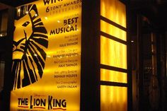 The Lion King! it is a almost 3 hours long, but Henry loved it!