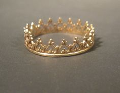 Gold in Rings - Etsy Jewelry Diamond Rings, Gold Rings, Wire Crown, My Christmas Wish List, Circlet, Etsy Jewelry, Jewelery, Bling, Rose Gold