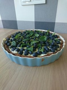 #tarta #mascarpone #whitechocolate #bluberries #mint #lime #tasteofsummer
