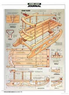 sled plans Popular Mechanics - Google Books