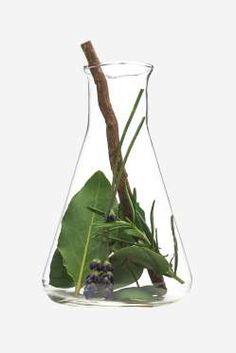 Ingredients: 20 drops eucalyptus oil20 drops cedar wood oil10 drops tea tree oil10 drops geranium oi... - Design by Dana Tepper + Getty
