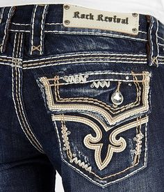 Rock Revival Kai Skinny Stretch Jean #buckle #fashion #jeans www.buckle.com