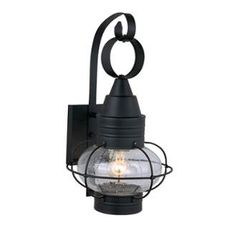 View the Vaxcel Lighting OW21891 Chatham 1 Light Outdoor Wall Sconce - 10 Inches Wide at Build.com.