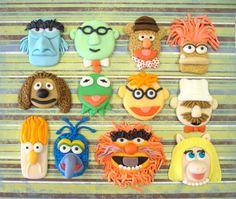 The Muppets Cake Decorations by MySugarShenanigans on Etsy, $25.00 - So cute!!!!!!!!!!