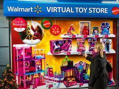 Virtual toy store with QR Codes in Toronto Qr Codes, Underground Store, Toronto, Interactive Walls, Interactive Projection, Shopping Street, Shopping Mall, Online Shopping, Mobile Shop