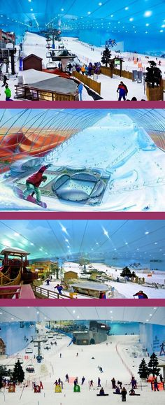 Ski Dubai is the first indoor ski resort in the Middle East and offers an amazing snow indoor activities in Dubai.