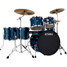 Are you looking for a new drum set? You can find a selection of TAMA DRUMS including this TAMA IMPERIALSTAR 6-PIECE DRUM SET WITH CYMBALS IN MIDNIGHT BLUE (free shipping) in the store at http://jsmartmusicworld.com