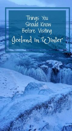 Visiting Iceland In Winter