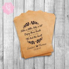 Wedding Favor Bags Wedding Favors Personalized by RoyalBrides
