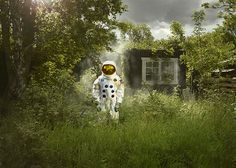 Crash Landed: Astronaut Photos by Ken Hermann | Inspiration Grid | Design Inspiration