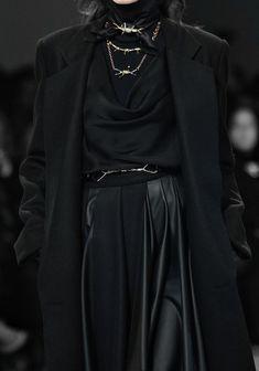 "Outfit for a Bolton bannerman "" Rodarte, Fall 2013 "" Dark Fashion, High Fashion, Classic Fashion, Cool Outfits, Fashion Outfits, Fashion Tips, Fashion Fashion, Fashion Boots, Looks Style"