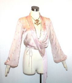 Hey, I found this really awesome Etsy listing at https://www.etsy.com/listing/193301942/vintage-kenzo-paris-blouse-silk-wrap
