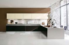 Cucina e soggiorno open space - Soggiorno con cucina