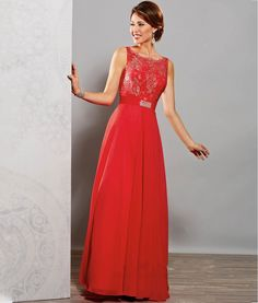 Red Chiffon Mother of The Bride Dresses Plus Size Women Evening Party Mother Groom Formal Gowns For Wedding 03201