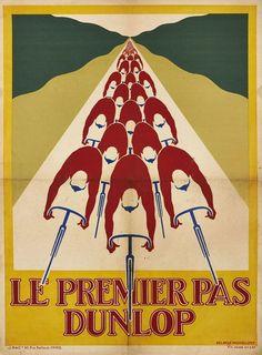 Le Premier Pas Dunlop ~ Delarue - Nouvellière | #Bicycles #Dunlop #Delarue #Nouvelliere
