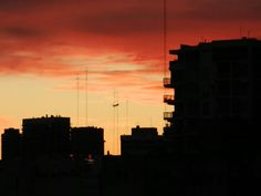 Amanecer orange en Baires