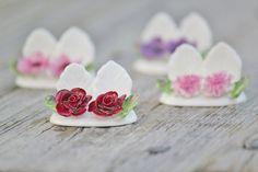 Vintage Aynsley England Flower Fine Bone China Place Holders
