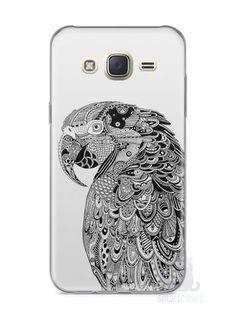 Capa Capinha Samsung J7 Arara Artística