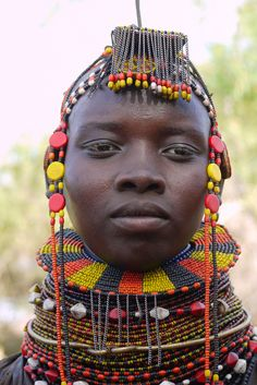 Africa | Turkana woman, Kenya | © Rita Willaert