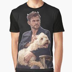 "Camiseta ""Chris Hemsworth"" da clecio | Redbubble"