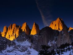 Mt. Whitney by Galen Rowell