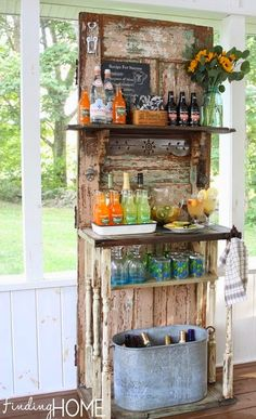 Salvage Savvy: Weekly [P]inspiration: Outdoor Entertaining DIY Ideas