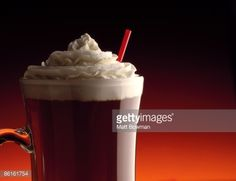 Foto de stock : Coffee with whipped cream