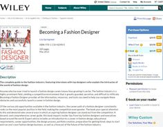 13 Best Purchase The Book Images Become A Fashion Designer How To Become Fashion Design