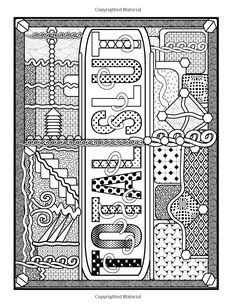 Amazon Awesome Fcking Patterns An Adult Coloring Book With Funny