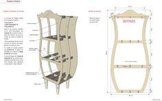 """Résultat de recherche d'images pour """"plan meuble en carton"""""""