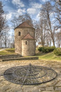 My Favourite Place... This is the 11th century Romanesque Rotunda in Cieszyn, Poland. It formed a part of the castle and sits atop the Castle Hill as one of the two remaining original structures. This Castle Hill is a beautiful place, filled with ancient trees and an air of the lands described in fairytales. My true Happy Place.
