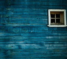blue wood stain - Google Search. I really want a barn in this color, or a chest in my room!