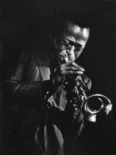 "ineedmoreties: "" un-air-d-autrefois: ""  © W. Eugene Smith/Magnum Photos , US jazz trumpeter Miles DAVIS. Circa 1969 "" For @maturestyle """