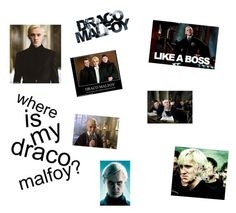 """Draco Malfoy"" by drumline5 ❤ liked on Polyvore featuring art"
