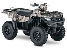 New 2016 Suzuki KingQuad 500AXi Camo ATVs For Sale in Texas. 2016 Suzuki KingQuad 500AXi Camo, 2016 Suzuki KingQuad 500AXi Camo Trusted. Rugged. Reliable. The rugged and reliable KingQuad 500AXi Camo receives a few new changes that provides smoother acceleration, quicker throttle response, and a stronger feel in the mid-high RPM range. The front end of the quad gets a newer aggressive stance while side panel change allows you to easily check your oil level without removing any body parts…
