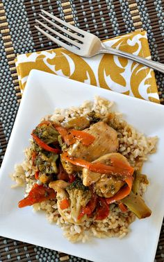 McCormick Makes Dinner Easy: Easy Chicken Stir Fry Recipe {sponsored by McCormick Skillet Sauces}