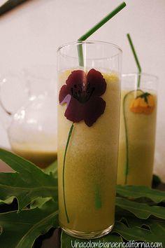 Lulo juice | unacolombianaencalifornia.com