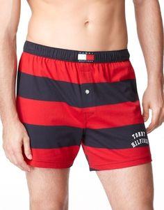Tommy Hilfiger Rugby Stripe Knit Boxer Short