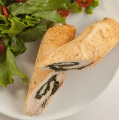Fancy, fancy, fancy, but easy, easy, easy! Serve Chicken and Mozzarella Wrap-Ups with warm rolls and a tossed salad for a company-worthy meal.