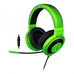 Gaming Earpiece with Microphone Razer RZ04-01380200- PC PS4 Green