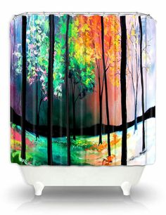 Artistic Shower Curtains by DiaNoche by DianocheDesignsDecor, $89.00 @OpenSky, #dianochedesigns, #homedecor, #art, #showercurtain, @Rachael Rodriguez Designs, #stylish, #bath, #modernhome, #bathroom, #opensky, @Rachael Rodriguez Designs, @Etsy, #etsy,  https://www.opensky.com/dianoche-designs?osky_invite=5188f694f05a2f906b0008c5
