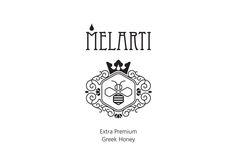 Λογότυπο για μέλι MELARTI Logo Design, Personalized Items, Logos, Logo