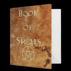 Book of Spells binder $21.35