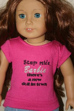 "Pastel Green Knit Short Sleeve Tee T-Shirt fits 18/"" American Girl Size Doll"