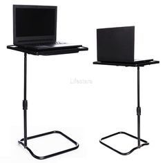 Superior Height Adjustable Laptop Desk Swivel Bedside Table Stand Tray Over Bed LFSZ