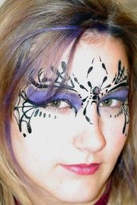 Makeup ideas fairy leaves 20 Ideas for 2019 - Make-up Ideen Fee Spider Face Painting, Body Painting, Spider Web Makeup, Clown Face Paint, Faerie Costume, Witches Night Out, Makeup Art, Makeup Ideas, Makeup Inspo