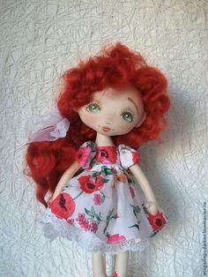 Коллекционные куклы ручной работы. Ярмарка Мастеров - ручная работа Кукла малышка Маковка. Handmade.