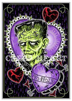 'To Hold' Fine Art Print | Creep Heart